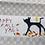 cross point, fall decor, cat runner, cat dining, hand sewn cat