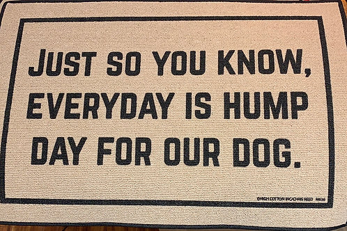 funny floor mat, dog lovers home front, cozy porch