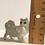Thumbnail: VINTAGE TINY MOTHER CARRYING KITTEN