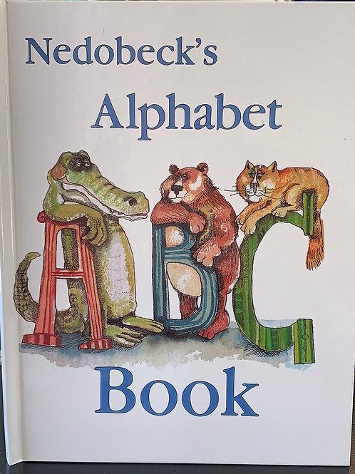 alphabet book, don nedobeck letter paintings