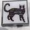 Thumbnail: CATS PILL BOX. SQUARE BLACK