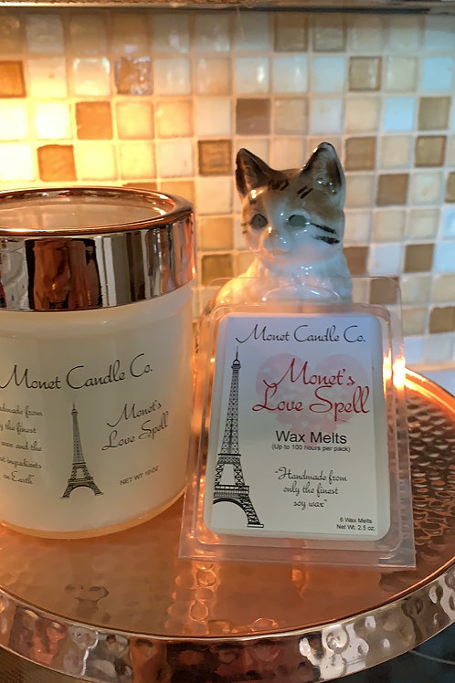 Monet Candle  Co - Monet's Love Spell