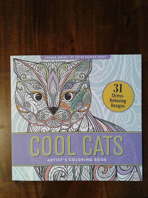zen cats coloring; zen cat book