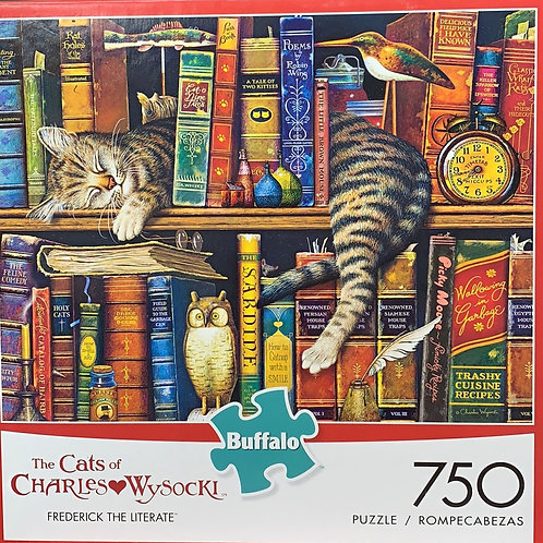 "Puzzle ""FREDERICK THE LITERATE"""