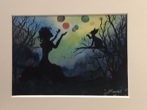 """""""BONDS"""" Watercolor Print"""