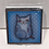 Thumbnail: CATS SQUARE PILL BOX BLUE