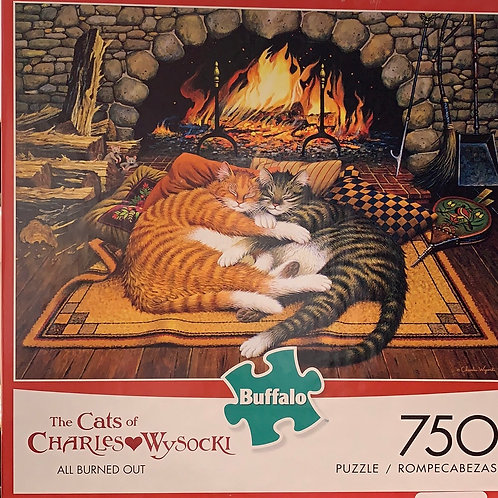 """Puzzle """"ALL BURNED OUT"""""""