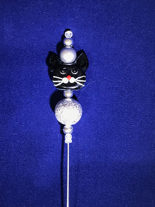 CATS CAKE TESTER -black/silver