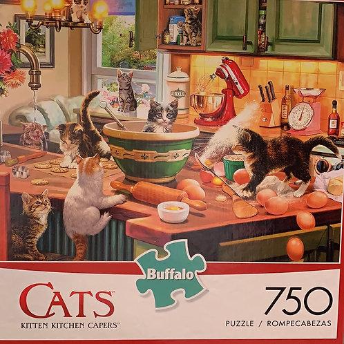 "Wysocki puzzle ""KITTEN KITCHEN CAPERS"""