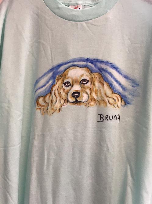 Cocker Tee Shirt by Bruna Christian
