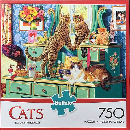 """Puzzle """"PICTURE PURRFECT"""""""
