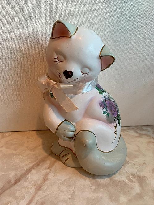 blushing cat; rose cat;