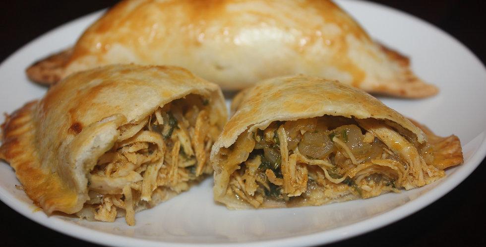 Shredded Chicken empanada