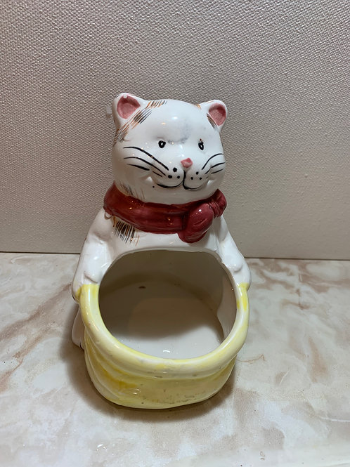 soap pad holder; brillo cat
