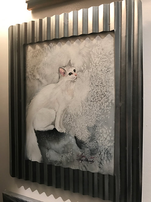 Polansky Original Watercolor SNOWCAT