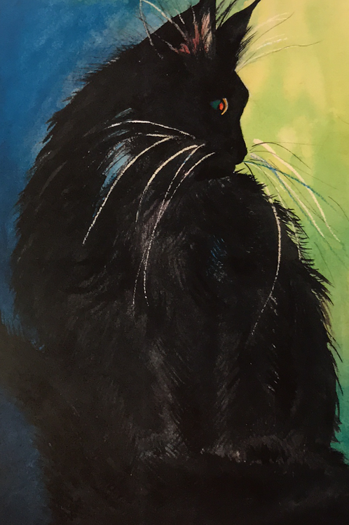 """MOROCCO"" Watercolor by Shery Polansky"