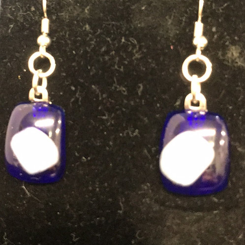 Fused Glass Earrings by Tannis