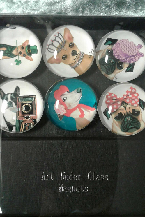 Glass Magnets (dogs)