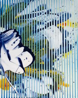Jeff Cylkowski, Untitled 21, Acrylic and