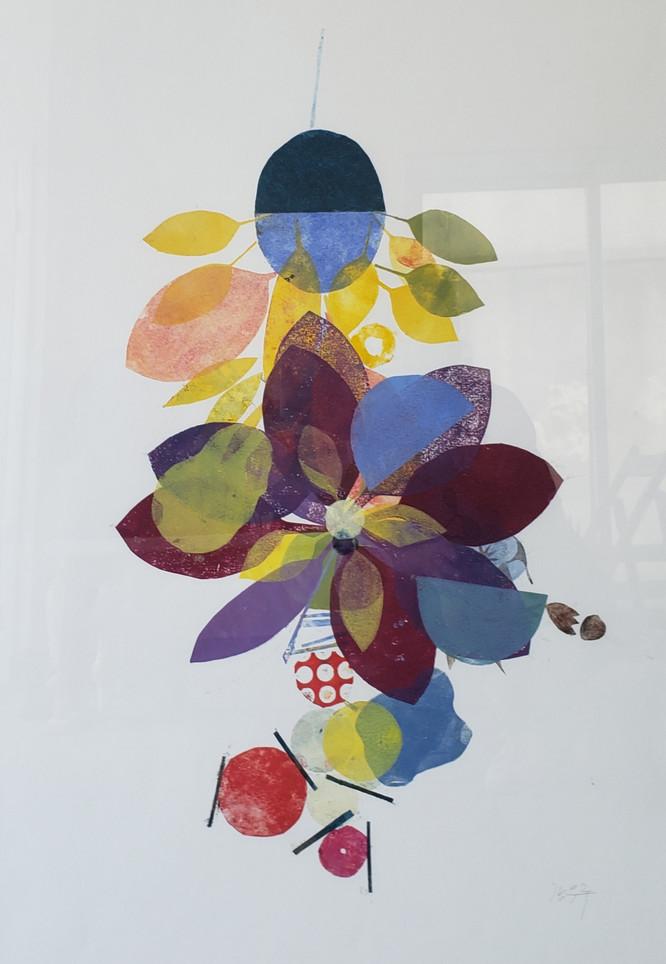 Eunju Kang, Hanging Flowers