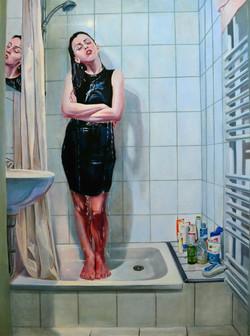 Dress code, oil on canvas 200x150, 2013.