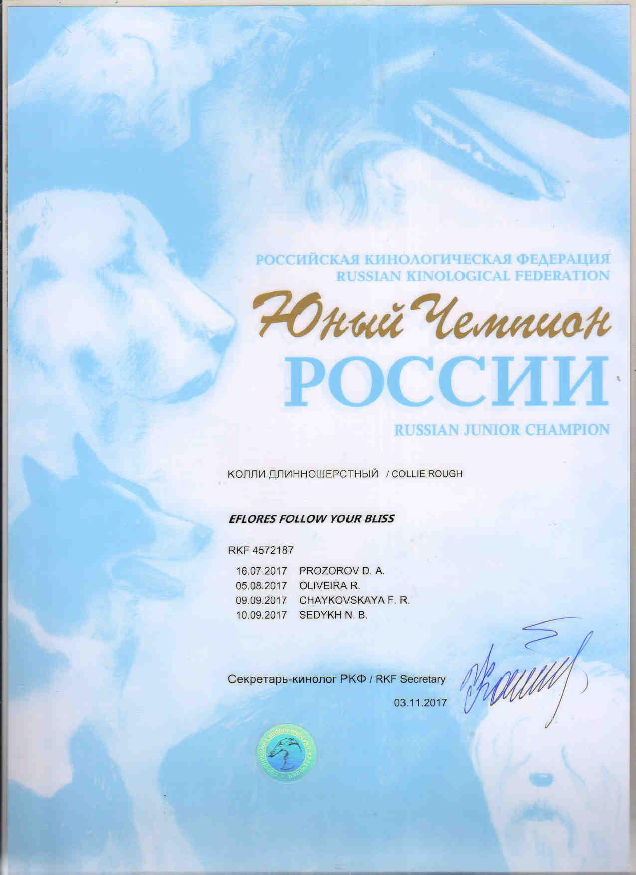 Юный Чемпион России