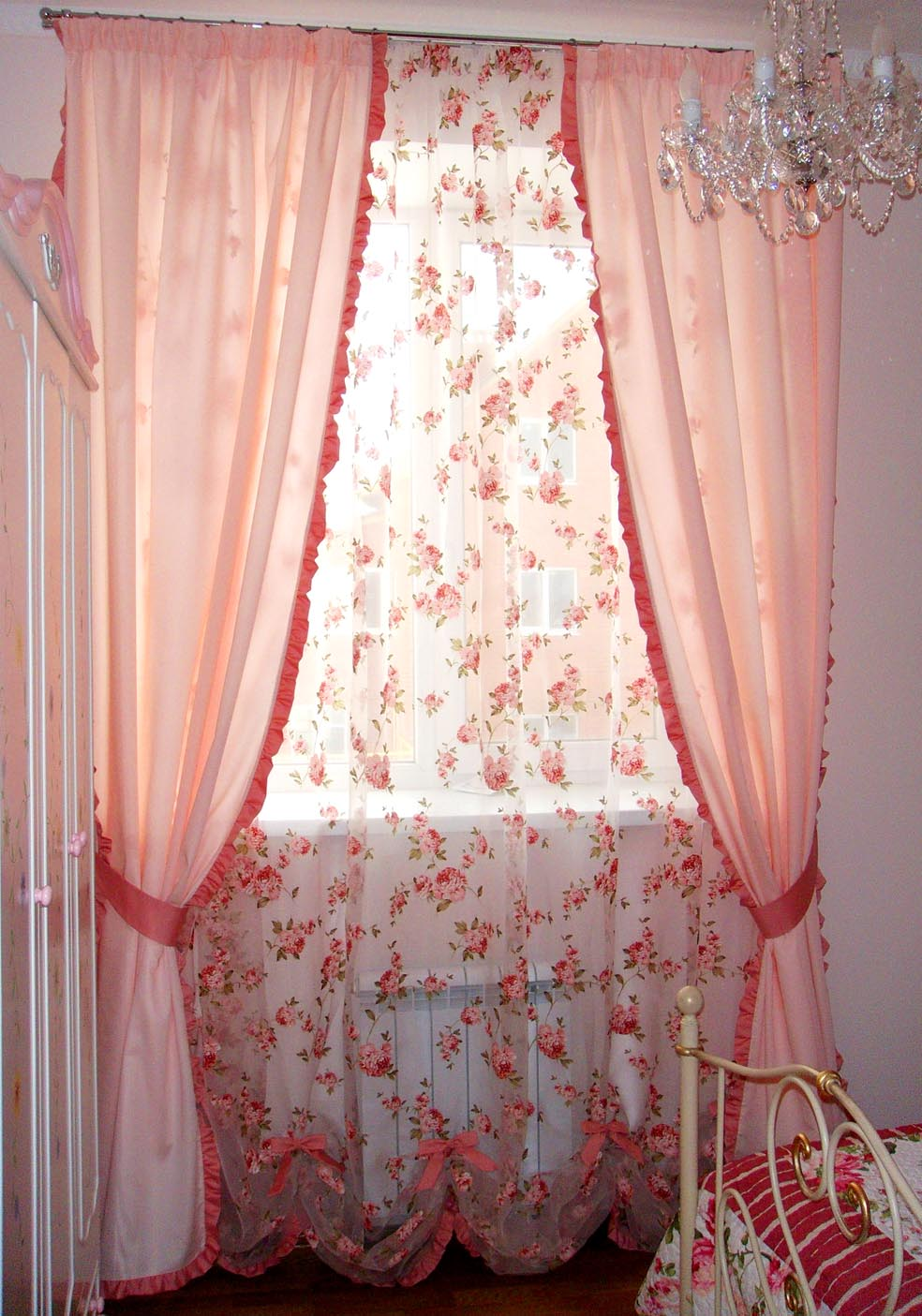 штора романтическая