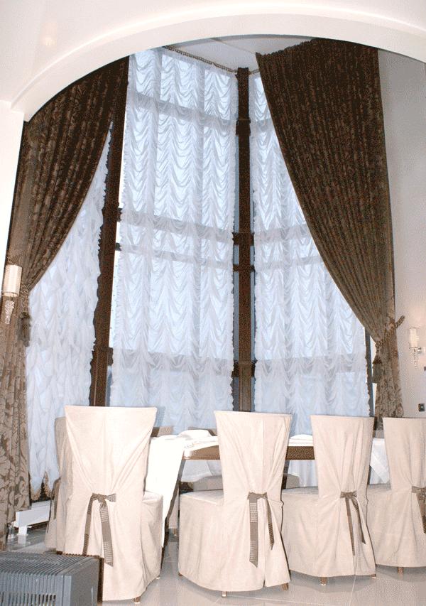 французская штора