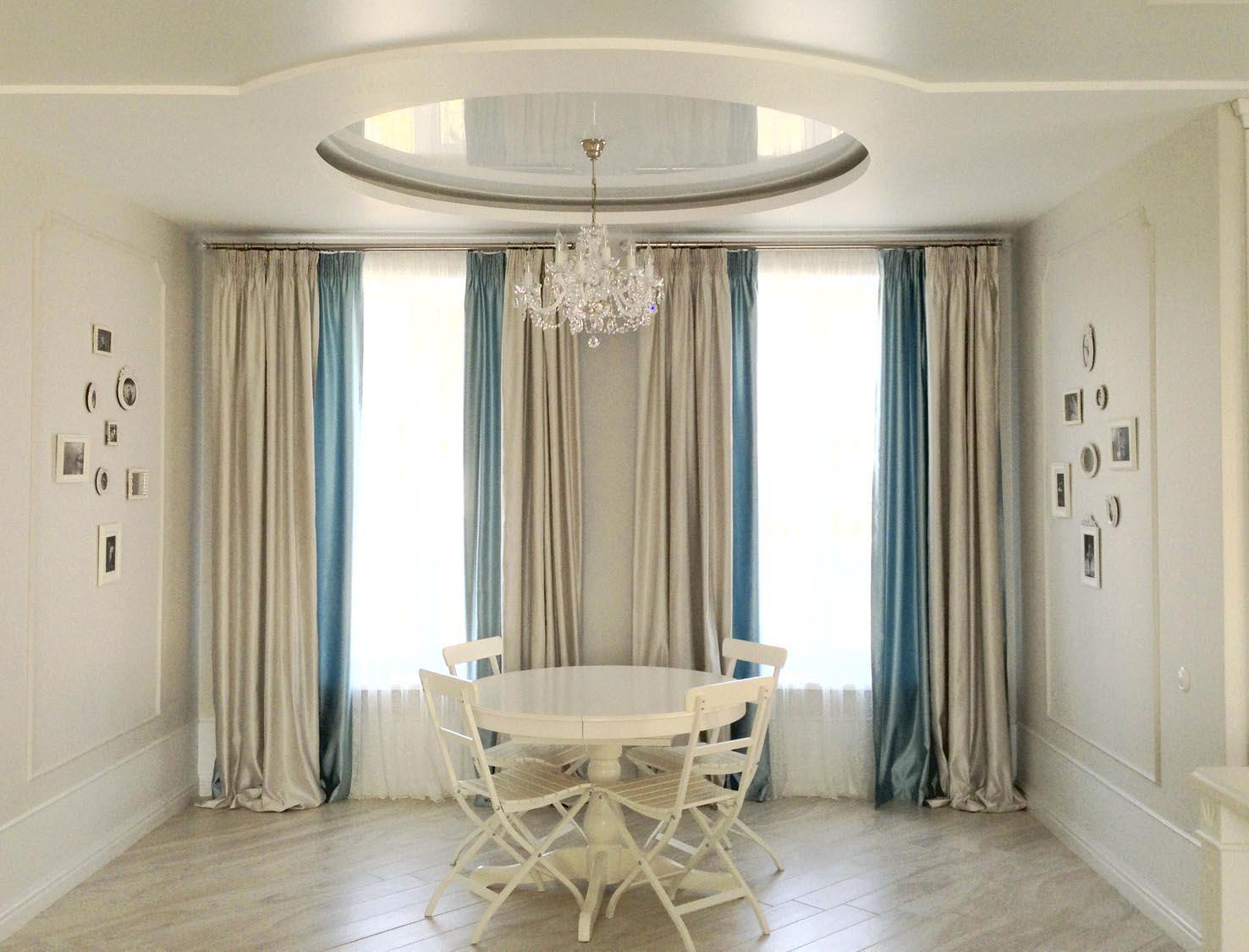 шторы столовой