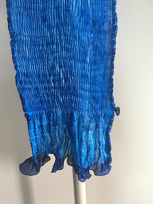 The Blues Silk Shiboori Scarf