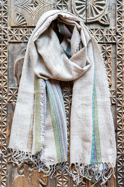 Grey Green Scarf