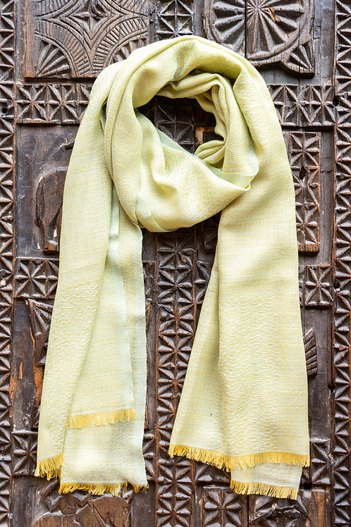Spring Yellow Scarf