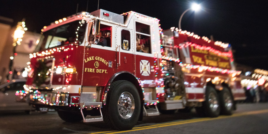 - Lighted Fire Truck Parade -
