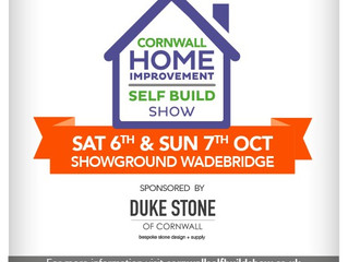 Cornwall Home Show 6th and 7th October