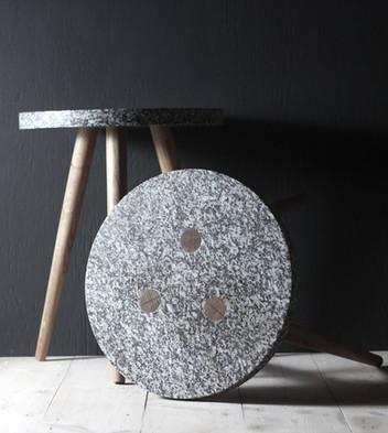 Head & Haft - Cornish Granite Stool