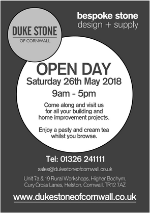 Open Day this Saturday 26th May