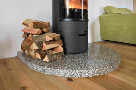 Cornish Granite Hearth