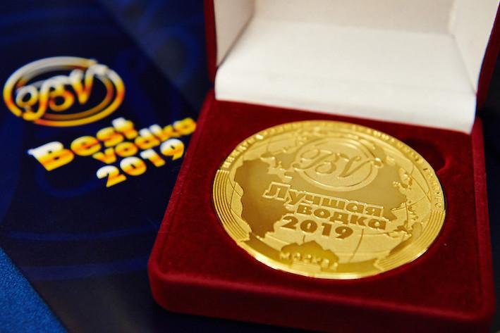медаль Лучшая водка 2018