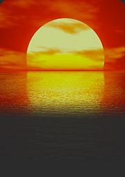 Fotografía sol, sección energía solar.
