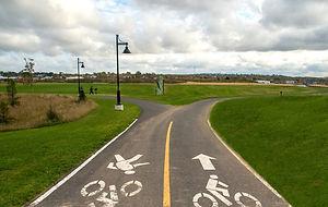 Open Hearth Park Path