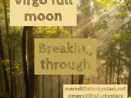 Full moon in Virgo || Mercury direct || March 9th