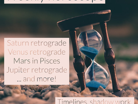 Horoscope for the week of 5.11 - 5.17 || all of the retrograde stations, Mars in Pisces