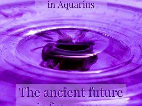 Jupiter Saturn Conjunction ~ the Future is Frequency
