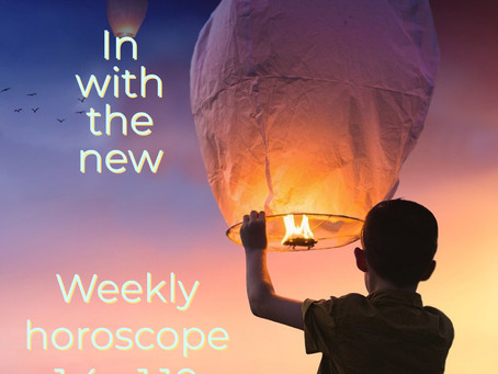 Astrology for the week of 1.4 - 1.10 || in with the new