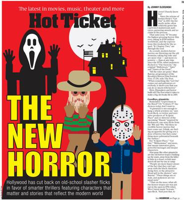 The New Horror