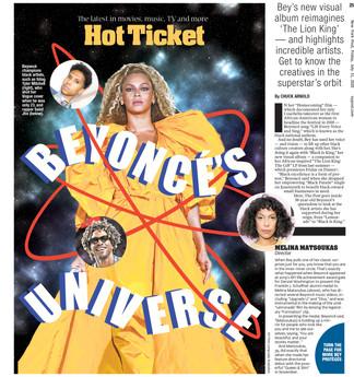 Beyonce's Universe
