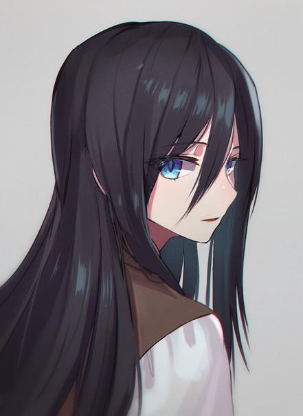 長髪蘭ちゃん