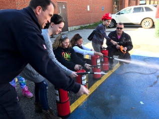 Somersworth Firefighters Ignite Students' Interests In Fire Safety