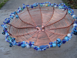 Woven Copper Plate