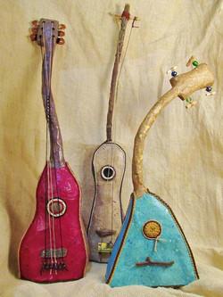 Paper Mache Instruments